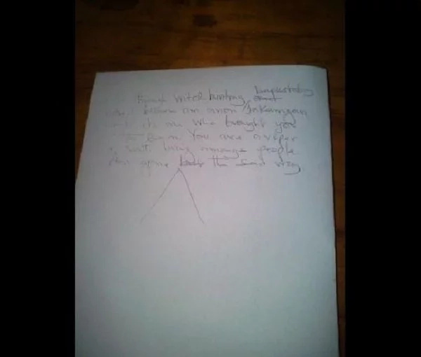 Suicide note reveals those behind Kisumu headteacher's death
