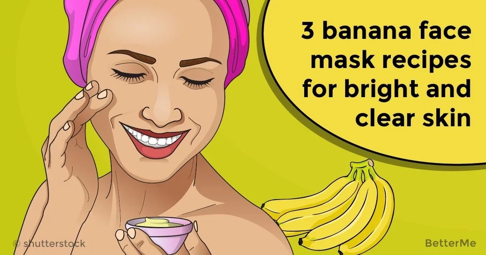 3 banana face mask recipes for bright and clear skin