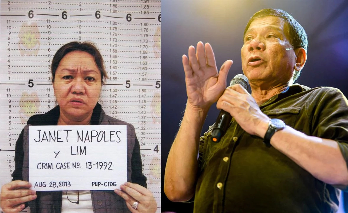 Duterte to resurrect Napoles' pork barrel scam