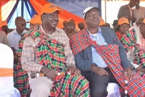 This is what Uhuru said after Raila teamed up with Mudavadi