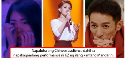 Impressed talaga ang mga Chinese! KZ Tandingan sings three Chinese songs, places third over-all in Singer 2018