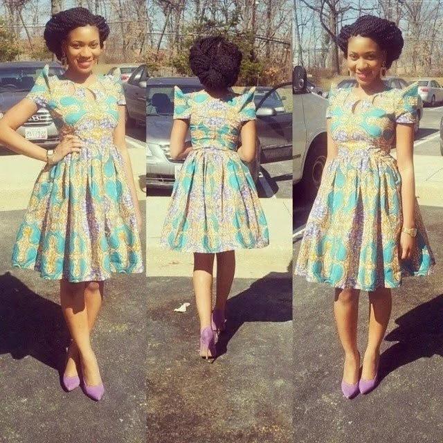kitenge designs for short dresses