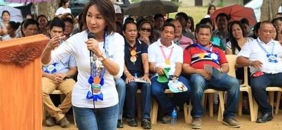 Gwen Garcia chooses Duterte over Binay