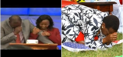 After William Ruto's tearful prayer session, Rachel Ruto goes down on her knees (PHOTOS)
