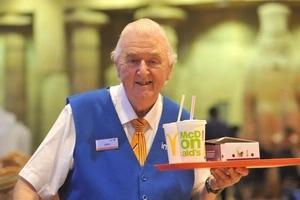 This Food Court Grandad Is Definitely the Cutest Grandad in the UK