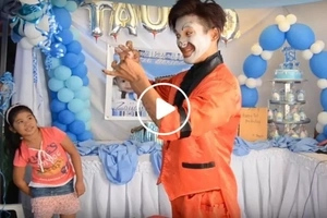 Wow talaga! This clown impressed netizens with his fast and epic magic tricks