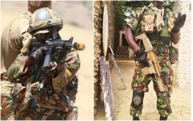 KDF Special Forces joined Somali soldiers to kill 14O al-Shabaab militants