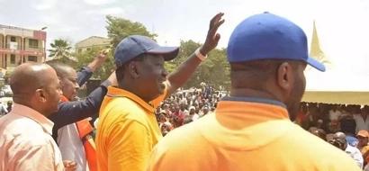 Raila amwita William Ruto 'mwizi' katika ziara yake Mombasa (video)