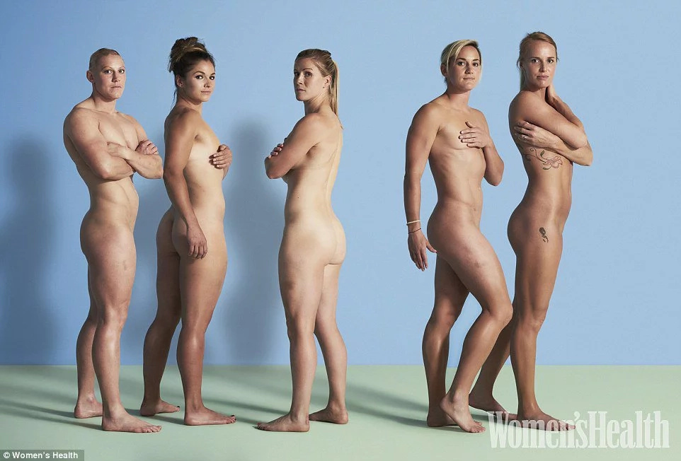 Female Olympians pose naked to celebrate their bodies
