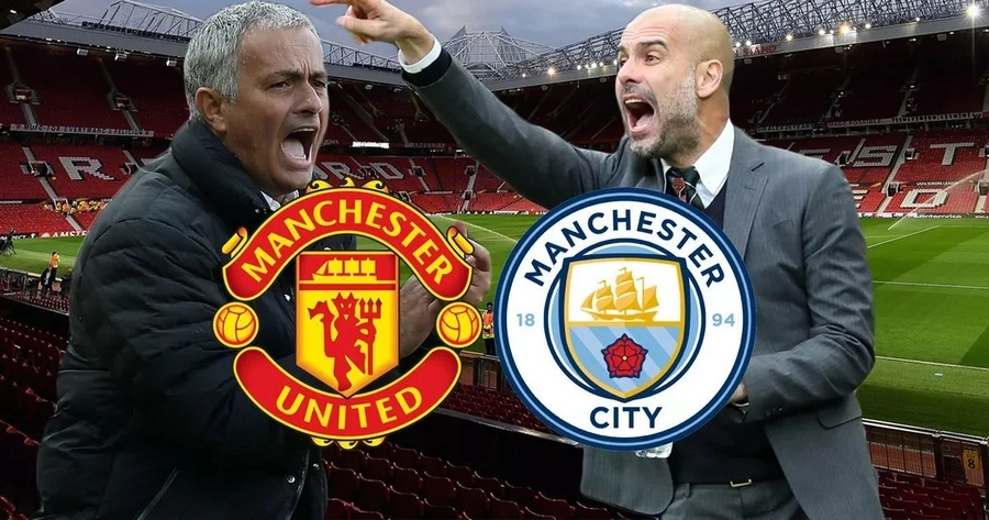 Manchester City faced off with Manchester United on Saturday, April 7, 2018, at Etihad Stadium