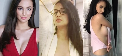 Seductive Kim Domingo gives a sneak peek with bathrobe photo