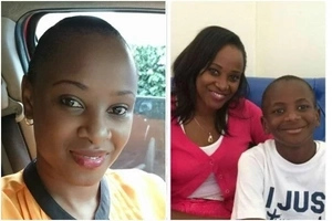 Citizen TV's Kanze Dena gushes over look-alike son as he turns a year older