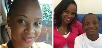 5 photos of Citizen TV's Kanze Dena and her son that will warm your heart
