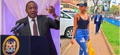 Socialite Huddah Monroe makes clear her reasons for preferring Uhuru over Raila