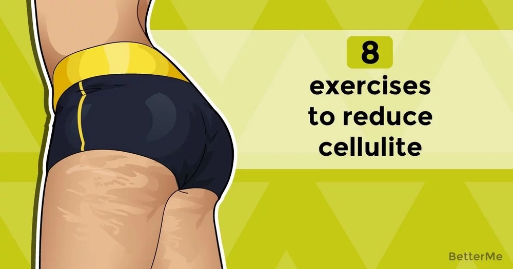 Top 8 simple exercises to reduce cellulite