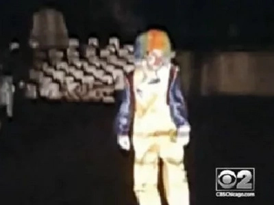 Maybe, This Is The FIRST Creepy Clown In America's History (Video)
