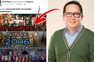 Simula na ang away! GMA director Mark Reyes posted the words 'Sang'Gre' with hashtag #wewerefirstduh