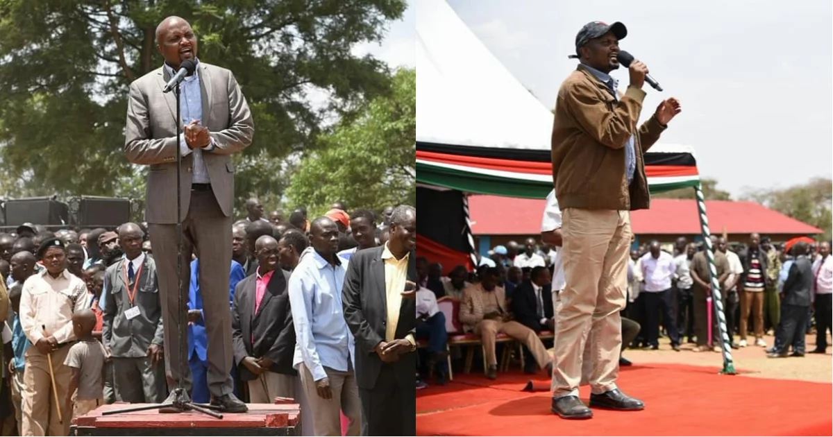 Moses Kuria awaudhi wafuasi wa NASA kwa kudai kuwa TJ Kajwang alimuapisha kabla ya Raila Odinga
