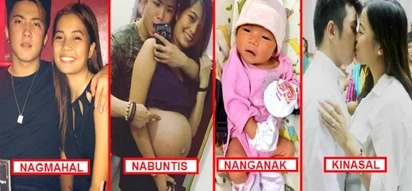 Maiiyak ka ng todo dito! This young Pinoy daddy shared his epic love story on social media: 'Nagmahal. Nabuntis. Nanganak. Kinasal!'