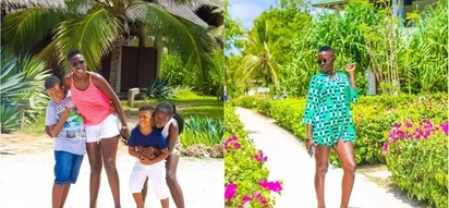 Singer Akothee says she gets paid to walk without clothes