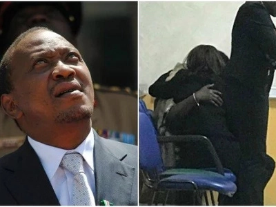 Uhuru Kenyatta in mourning after losing relative at the Nairobi Hospital