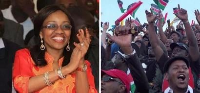 Mwaniaji mrembo wa Jubilee apata pigo kubwa, IEBC imesema hafai. Fahamu ukweli hapa