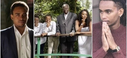 Never seen photos of Mwai Kibaki's drop-dead GORGEOUS grandchildren