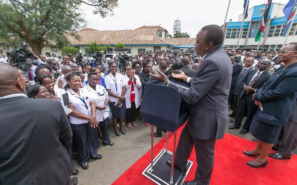 Uhuru challenges Raila to publicly oppose MPs' call for pay hike