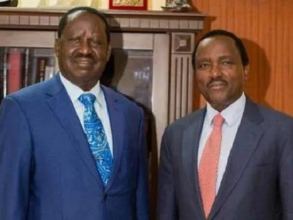 Blow to Raila and Kalonzo as government withdraws their security detail