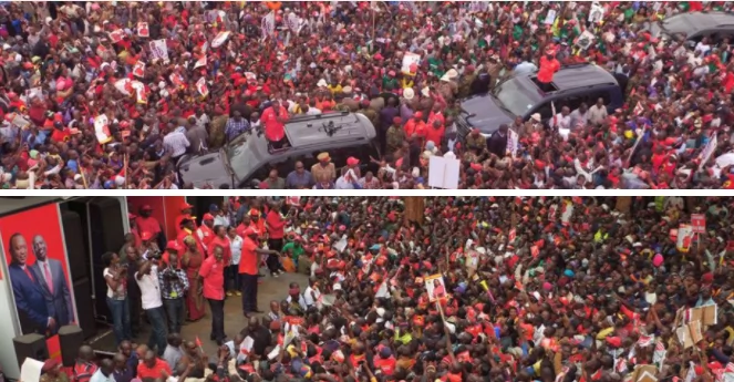 Hawa watu hawana ajenda - Uhuru na Ruto wapuuzilia manifesto ya NASA
