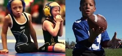 Niño sin piernas es un excelente deportista. ¡Todo un ejemplo de superación!