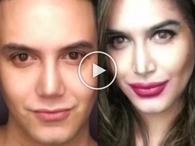 From gwapo to dyosa: Paolo Ballesteros transforms into Anne Curtis using make up