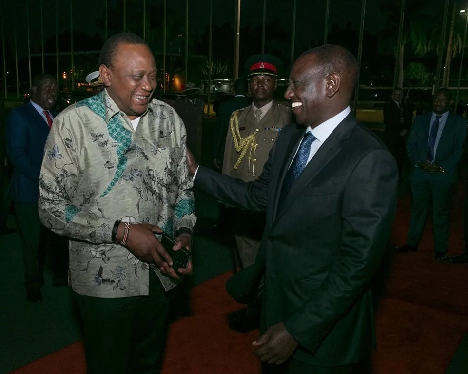 Uhuru flies out of the country after naming more cabinet nominees