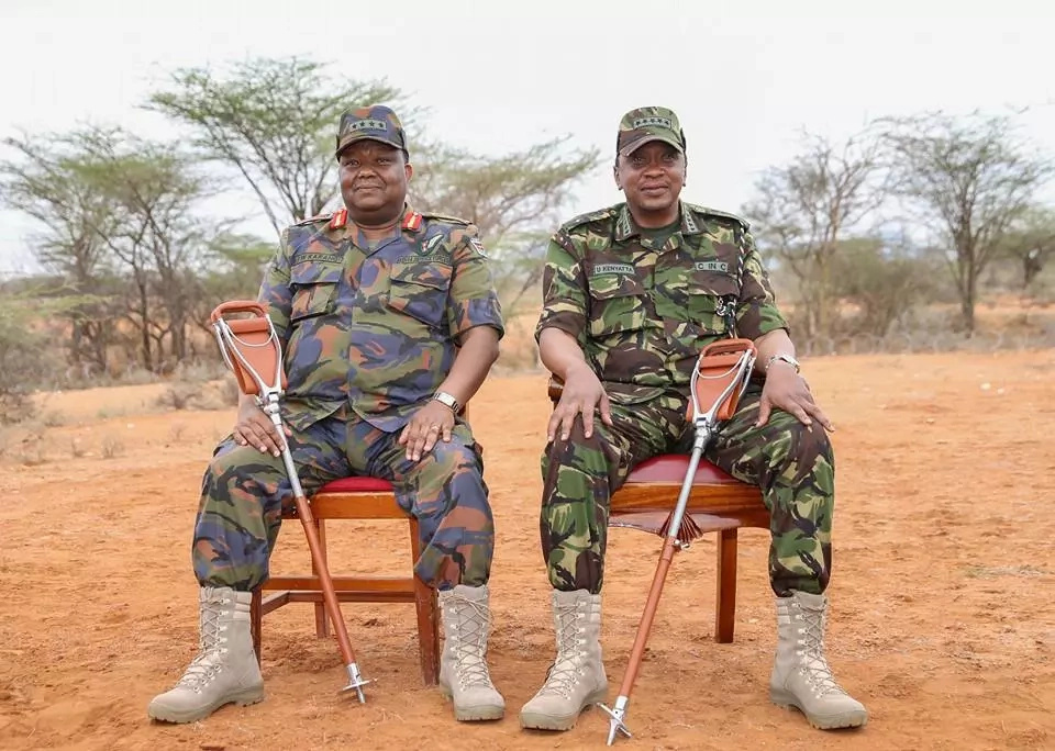Why President Uhuru Kenyatta puts on military uniform