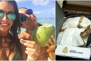 Two girls arrested for smuggling $30 million worth of cocaine while chilling on luxury voyage!