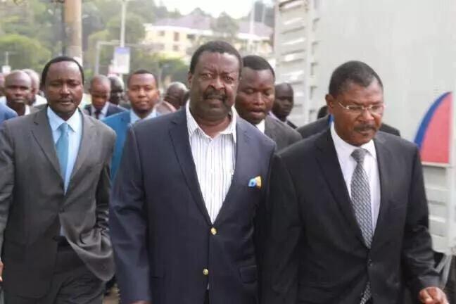 Wetang'ula lauded for ending his relationship with Raila Odinga