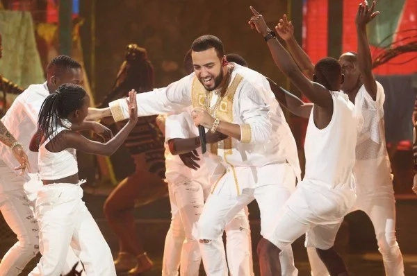 French Montana and ghetto kids of Uganda at BET
