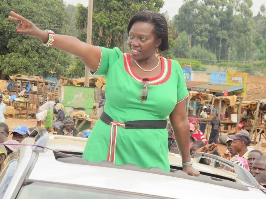 Waiguru and Karua face off in heated exchange just days to the elections