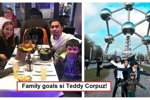Family goals sila! Heartwarming photos that show Teddy Corpuz is an awesome husband and father