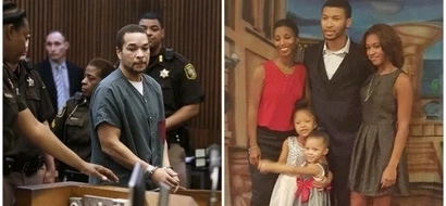 Burn in hell! Man who forced his wife to watch him killing their 4 kids will spend 47 YEARS in jail (photos)