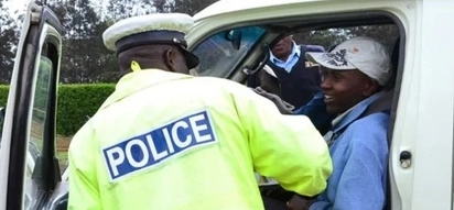 Senior traffic cop escaping arrest in Kajiado cheats death after ramming into a tree