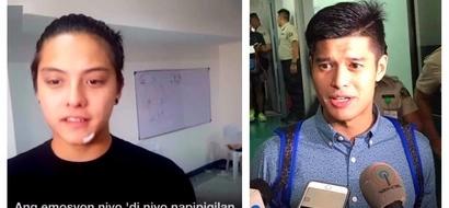 Daniel Padilla breaks his silence on basketball game scuffle with JC de Vera: 'Siyempre nagkakainitan. Pisikal yung laro.'