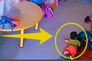 Nursery Carer Slapped 9-Month Baby So Hard She Fractured Her SKULL And Caused Internal Bleeding (VIDEO)