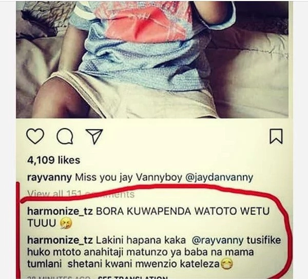 Tz songbird, Rayvanny, unveils new woman hours after dumping baby mama