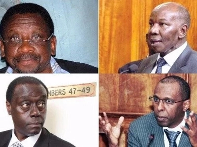 The big names that will represent NASA and Jubilee in the presidential petition