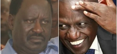 William Ruto attacks Raila after his speech in the US