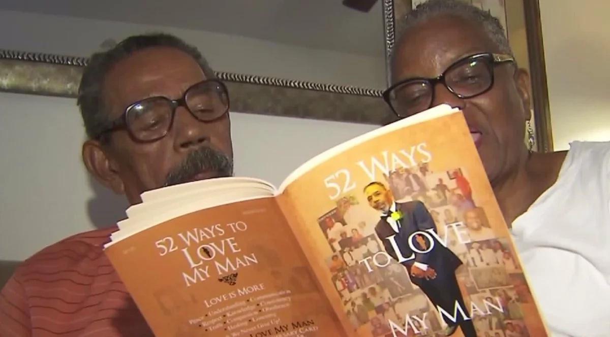 Woman writes book to help husband of 50 years recall as he battles Alzheimer's