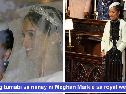 May discrimination? Meghan Markle's mother sadly sits alone during the royal wedding