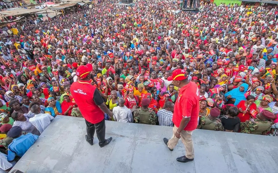 Why NASA has 'Renamed' Uhuru Park to 'Raila Odinga Grounds'