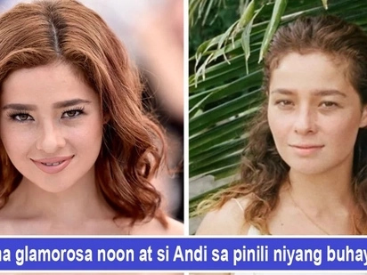 Nanahimik at nagpakalayu-layo! Andi Eigenmann's life after showbiz is a far cry from the glitz and glamour of the cameras